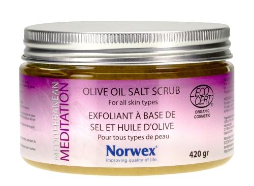 403041 Norwex Mediterranean Organic Olive Oil Salt Scrub