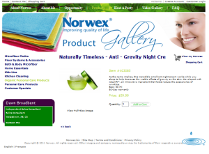 Norwex Naturally Timeless Anti-Gravity Night Cream