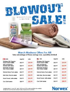 2013 Blowout Sale