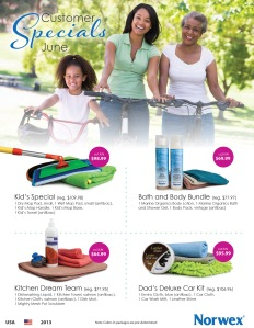 June 2013 Norwex Customer Specials USA