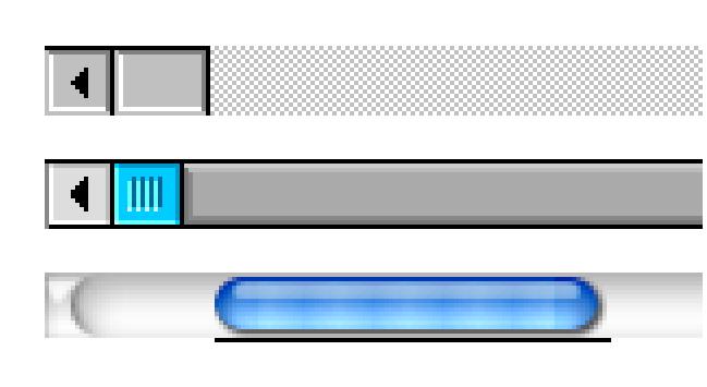Scroll bar stays at bottom