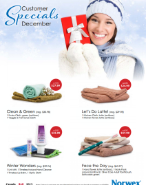 December 2013 Norwex Customer Specials Canada