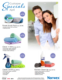 April 2014 Norwex Customer Specials Canada
