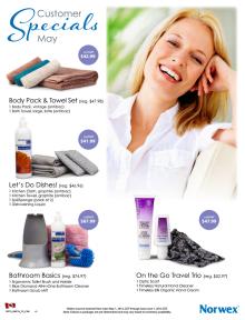 May 2014 Norwex Customer Specials Canada