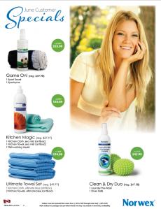 June 2014 Norwex Customer Specials Canada