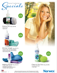 June 2014 Norwex Customers Specials USA