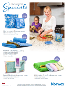 July 2014 Norwex Customer Specials Canada