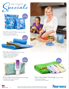 July 2014 Norwex Customer Special USA