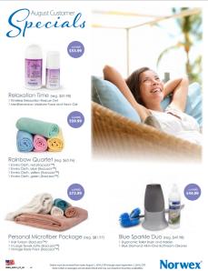 August 2014 Norwex Customer Specials USA