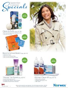 September 2014 Norwex Customer Specials Canada