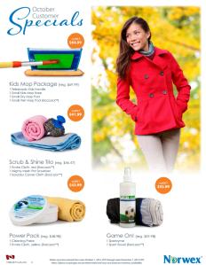 October 2014 Norwex Customer Special Canada