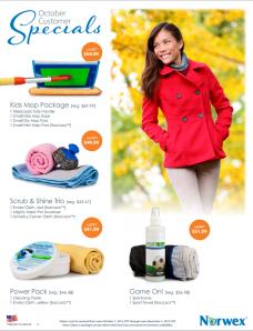 October 2014 Norwex Customer Specials USA
