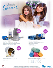 December 2014 Norwex Customer Specials Canada