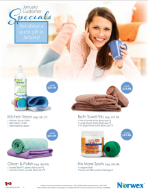 January 2015 Norwex Customer Specials Canada
