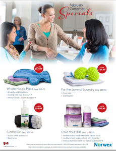 February 2015 Norwex Customer Specials Canada