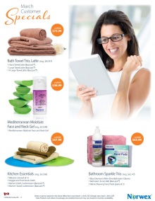 March 2015 Norwex Customer Specials Canada