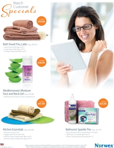 March 2015 Norwex Customer Specials USA