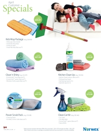 April 2015 Norwex Customer Specials Canada