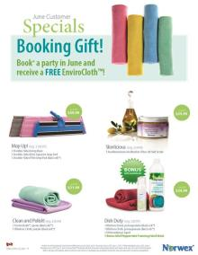 June 2015 Norwex Customer Specials Canada