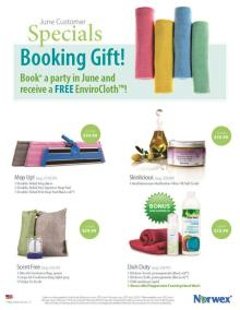 June 2015 Norwex Customer Specials USA