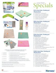 June 2015 Norwex Host Special Canada
