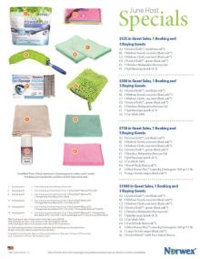 June 2015 Norwex Host Specials USA