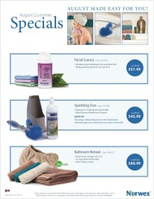 August 2015 Norwex Customer Specials Canada