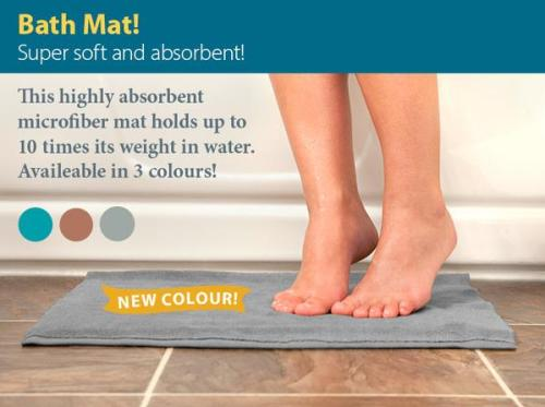 Bathmat-grey