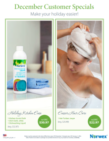 December 2015 Norwex Customer Special USA