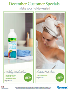 December 2015 Norwex Customer Special Canada