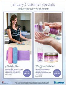 January 2016 Norwex Customer Specials Canada