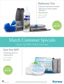 March 2016 Norwex Customer Specials Canada