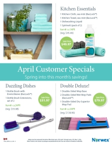 April 2016 Norwex Customer Specials