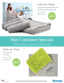 May 2016 Norwex Customer Specials Canada