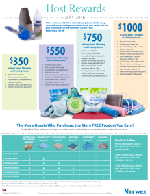 May 2016 Norwex Host Specials Canada
