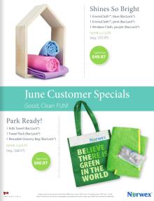 June 2016 Norwex Customer Specials Canada