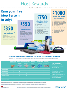 July 2016 Norwex Host Specials Canada
