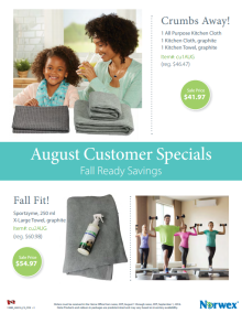 August 2016 Norwex Customer Specials Canada