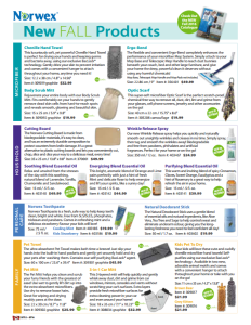 2016 Norwex Product Launch Flyer