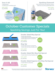 October 2016 Norwex Customer Specials