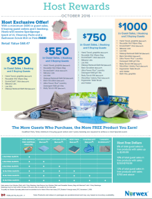 October 2016 Norwex Host Specials Canada