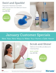 January 2017 Norwex Customer Specials Canada