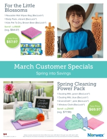 March 2017 Norwex Customer Specials Canada