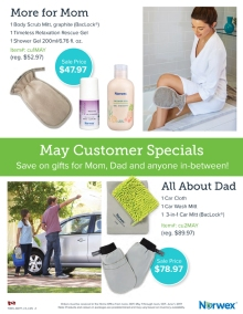 May 2017 Norwex Customer Specials Canada