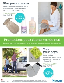 May 2017 Norwex Promotions pour clients