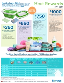 May 2017 Norwex Host Specials Canada