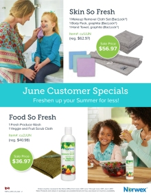 June 2017 Norwex Customer Specials Canada