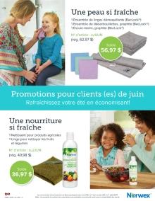Juin 2017 Norwex Promotions pour clients