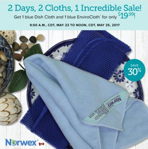 May 2017 Norwex Flash Sale
