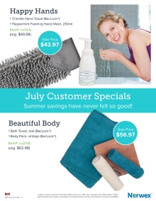 July 2017 Norwex Customer Specials